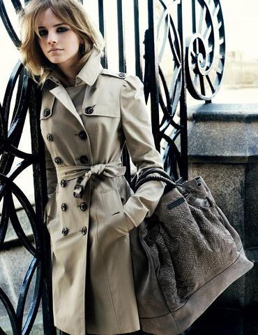 Emma Watson voor Burberry 2009